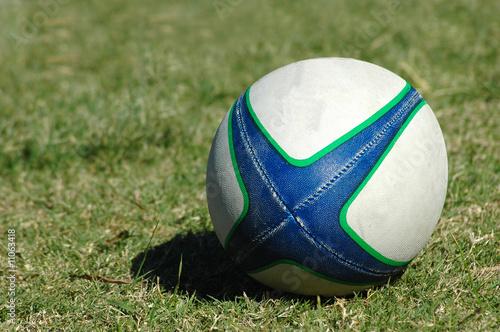 Leinwandbild Motiv Rugby Ball