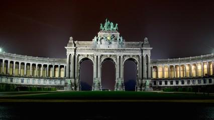 Triumphal archs in parc du cinquantenaire, Bruxelles, Belgium