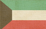 flag of kuwait canvas