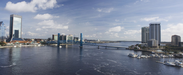 downtown jax st johns pano