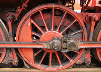 Dampflok 58311 Rad