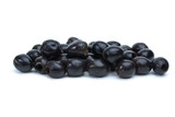 Some pitted black olives poster