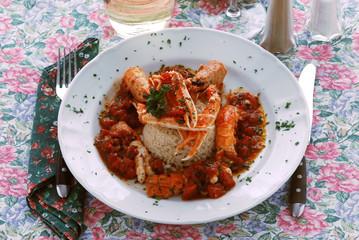 Risotto di scampi - Primi piatti - Ricette della Campania