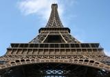 eiffel, monument, paris, tour, tower, eifel, acier, ciel poster