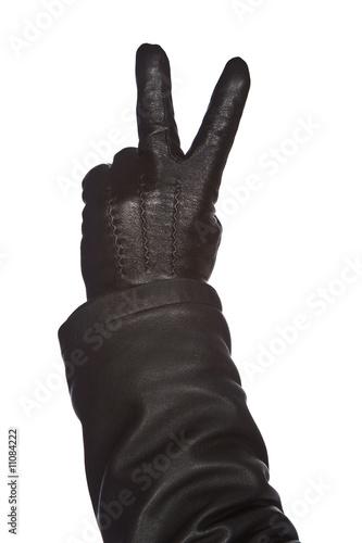 Hand in glove.