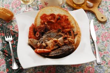 Caldaro - Secondi di pesce della Toscana