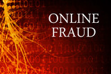 Online Fraud Abstract poster