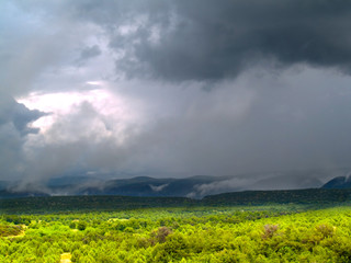 Monsoons at Tonto National Forest