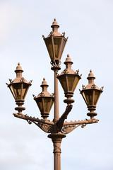 The Petersburg's streetlamp