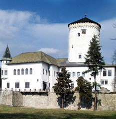 Budatin Castle in Zilina town, Slovakia