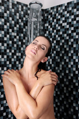 Sleeping Shower Girl