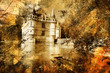 castle - artwork in painting style - 11105622
