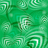 Abstract  gentle green background poster