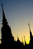 Chiang Mai Sunset Chedis poster