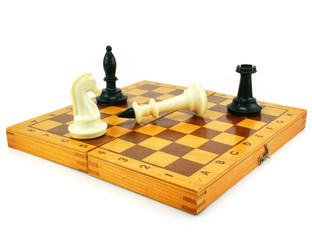 Chess board and chessmens