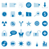 WEB icon and symbol  Vector set