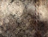 Fototapety decorative silver background