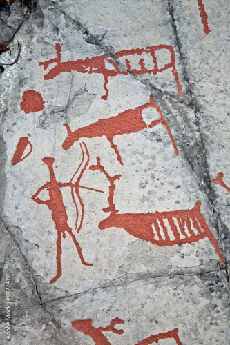 Poster Prehistoric paintings
