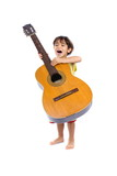 Child and Guitar