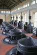 hydro power plant, inside location, turbines