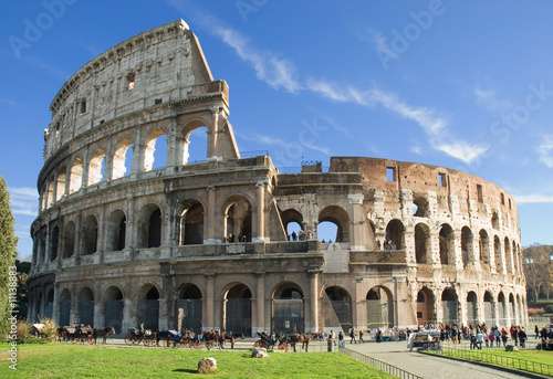 Foto op Canvas Rome Colosseum, Rome