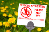 Pesticide Application poster