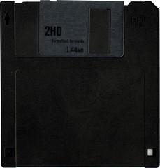 front new floppy disk