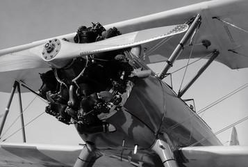 Old biplane