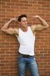 Flexing Bodybuilder