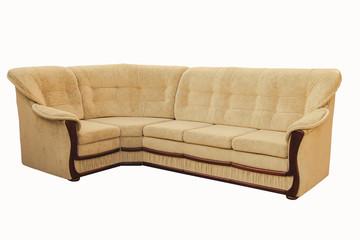 suite of soft furniture