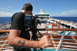 Camera Man on Cruise Ship