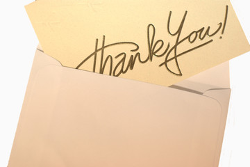 Thanks and envelope