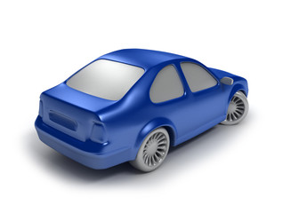 cyan car