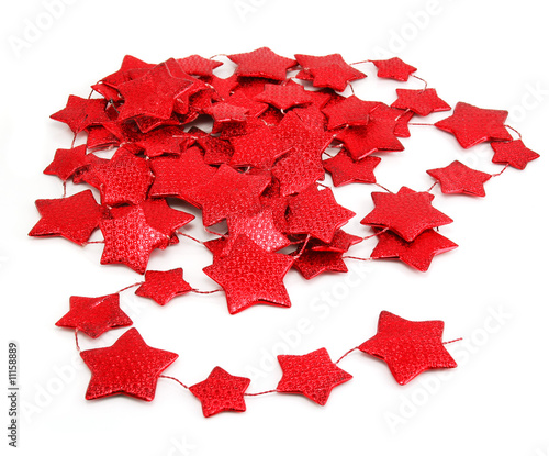 Star-shaped garland
