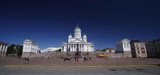 The Lutheran Cathedral in Helsinki Finland