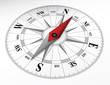 canvas print picture - Compass