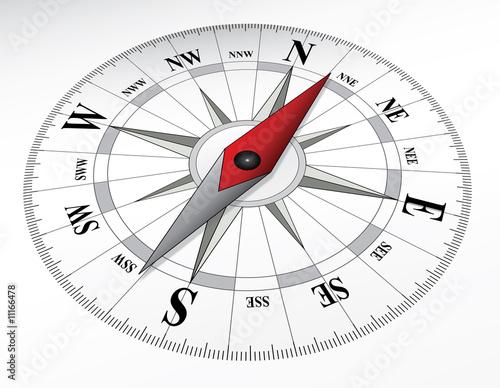 canvas print picture Compass