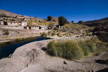 deserto di atacama villaggio andino
