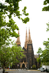 view of st. Patrick's Cathedral, Australia
