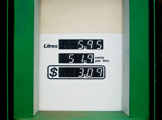 Petrol Bowser Readout