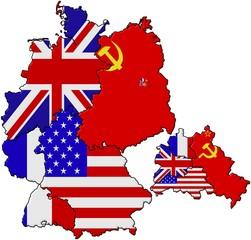 Geteiltes Deutschland - Flaggenversion