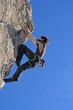 Extremsportart Klettern
