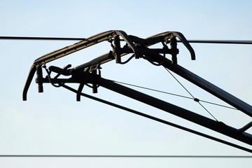 Stromabnehmer, Oberleitung