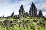 Hindu temple Prambanan. Indonesia. poster