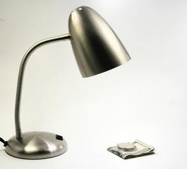 Light on money clip
