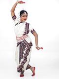 Fototapety indian classical female dancer