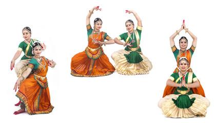 indian classical female dancers