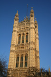 House of Lords tower, London poster