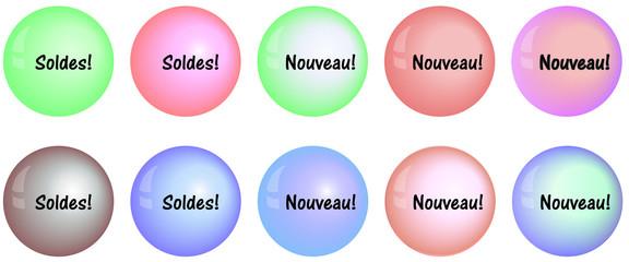 Soldes bulles