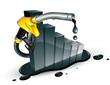 Concept carburant en baisse